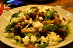 Salade à la ricotta fraîche