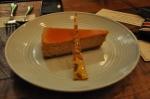 Gâteau au fromage et citrouille