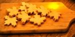 Biscuits feuilles d'érable