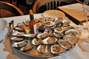Les huîtres étaient seulementà 1$ ce soir là, pourquoi s'en passer!