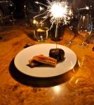 Brownies pour ma fête au restaurant Le Globe