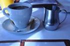 Café et lait chaud