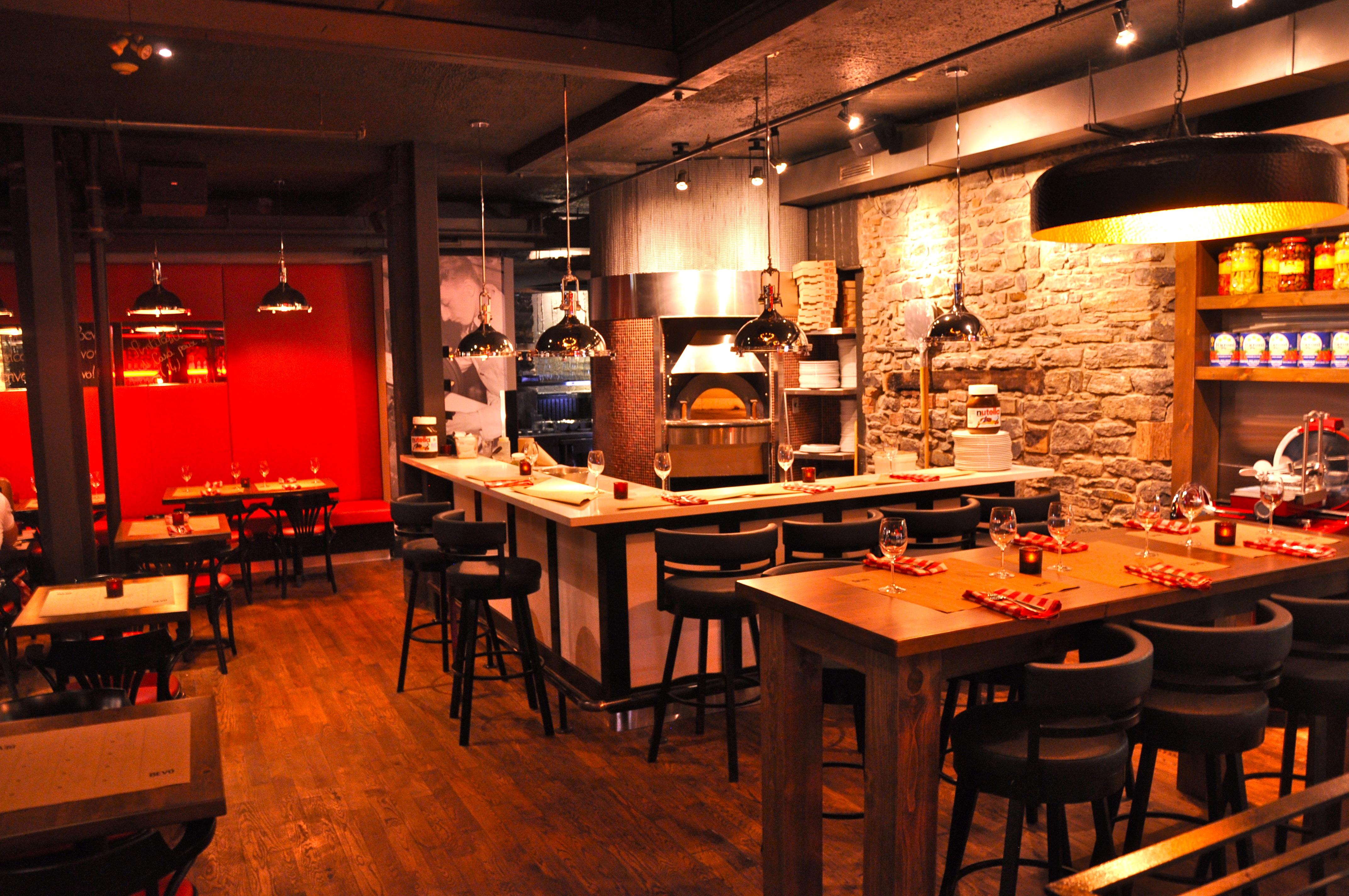 Restaurant Bevo Vieux Montreal